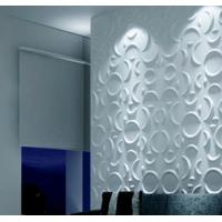 Quality Custom 3D Wall Panel Sterilizing 3D Background Wall for Living Room / Bedroom for sale
