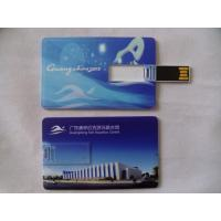 Buy cheap Promotional Credit Card Logo USB Flash Cards (T-010) from wholesalers