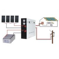 Buy cheap 1500W Portable Hybrid Solar Systems , Home Solar Panel Systems from wholesalers