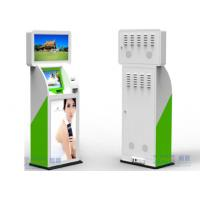 Buy cheap UPS Windows XP Customer Service Kiosk 32 / 42 Dual LED / LCD Adverti For Finance from wholesalers
