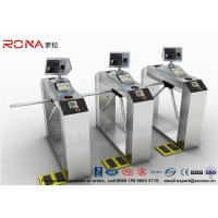 Buy cheap Pedestrian Access Control Barriers ESD Face Recognition System Fingerprint Access Control Turnstiles product