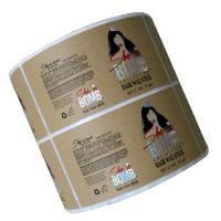 Buy cheap Tear Resistance Adhesive Label Sticker Custom Die Cut Shape Offset Printing from wholesalers