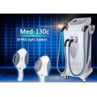 Buy cheap Effective SHR Skin Care Machines Home Use with Elight RF Frequency 1Mhz RF power 50w from wholesalers