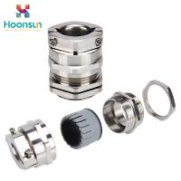 Buy cheap Double Locked Waterproof Cable Gland / Lock Fastener Electrical Cable Joints from wholesalers
