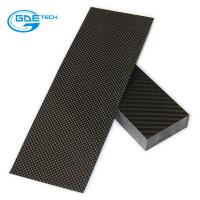 Buy cheap 3k carbon fiber laminated plate cnc cutting by CAD Drawing from wholesalers