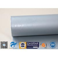 Buy cheap 300g Grey Silicone Coated Fiberglass Fabric / Cloth For Welding Splash Shield from wholesalers