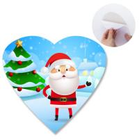 Buy cheap Heidelberg Offset Printing 3D Lenticular Sticker With Heart Shape Die Cut For Promotion from wholesalers