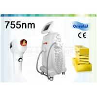 Buy cheap 755nm Alexandrite Laser Hair Removal Machine With Contact Sapphire Cooling Spot from wholesalers