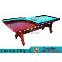 Stable H - Shaped Legs Casino Poker Table With Three Anti - Static Tablecloths