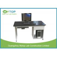 Anti Static University Laboratory Furniture Computer Lab Desk For Single Student