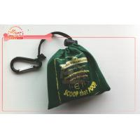 Buy cheap Silk Screen On Fabric Dog Poop Bag Carrier With Compostable And Bio Printing Bag from wholesalers