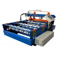 Buy cheap Curving Crimping Hydraulic Bending Machine GI PPGI Material Gear Wheel Transmission from wholesalers