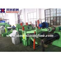 Buy cheap 3 x 1250mm Carbon Steel / HR/ PPGI Steel Coil Slitting Line With 10T from wholesalers