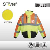 Buy cheap Construction security warning high visibility clothes ANSI/ISEA 107-2010 product
