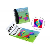 Buy cheap Toddlers Travel Tangram CMYK Color Magnetic Building Blocks from wholesalers