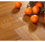 Buy cheap slight brushed burma teak herringbone(fishbone)engineered wood flooring from wholesalers