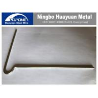 Buy cheap Right Angle Stainless Steel Wire Forming Bending Ss Wire Spheroidizing Heat Treatment from wholesalers