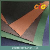 Buy cheap 100% PU 140cm Width 1.0mm Thickness Pu Leather Fabric For Diary Book Cover product
