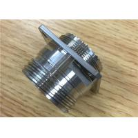 Buy cheap Aluminium Titanium Stainless Steel Turned Parts / CNC Carbon Cutting from wholesalers