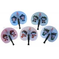 Buy cheap Cartoon Style Printed Accordion Paper Folding Fan For Promotion , Gifts , Souvenir Cute product