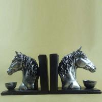 Buy cheap Polyresin Book End/ Horse head Book ends from wholesalers