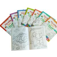 China Children Coloring Book Printing Drawing Book, Softcover Kids Coloring Book A4 /A5 Size on sale