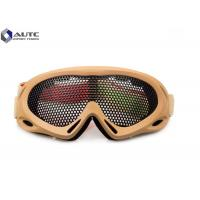 Buy cheap Strechable Tactical Military Goggles , Tactical Shooting Glasses Air Ventilation product