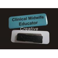 Buy cheap Offset Printing Blue / White Magnetic PVC Name Badges For Conferences product