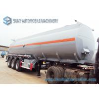 Buy cheap Hydrochloric Acid FUWA 13 Ton Fuel Tanker Trailer Three Axle Trailers 32000L from wholesalers