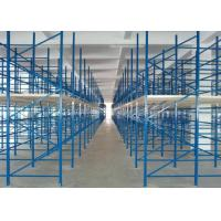 Buy cheap Powder coated Metal Warehouse Storage Racks / garage storage shelves from wholesalers