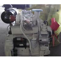 Buy cheap White 4 Cylinder Diesel Engine 4 Stroke With Sea Water Pump / Heat Exchanger from wholesalers