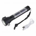 Buy cheap 18650 Battery 268 Lumens Solar Car Flashlight Tactical LED COB Light from wholesalers