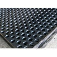 Buy cheap 2mm Thick Perforated Steel Mesh, 41 % Open Rating Black Perforated Iron Sheet product