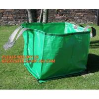 Buy cheap Home Garden Supplies Reusable Gardening Collapsible Garden Leaf Bags,2Pcs/Set Large Capacity 272L Trash Garden Leaf Weed from wholesalers