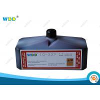 Buy cheap High Volume Domino Ink MEK Base / Continuous Inkjet Ink Industrial Coding from wholesalers