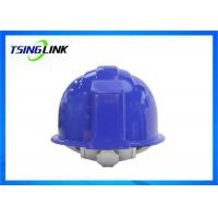 Buy cheap 4G Intelligent Construction Worker Helmet With Wireless Camera Three Proof Design product