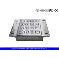 Buy cheap Vending Machine Dust Proof Numeric Key Pad Metal With USB Interface from wholesalers
