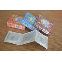 Buy cheap Classic Natural Latex Foil Condoms For Lasting Longer With Different Fruit Flavored from wholesalers