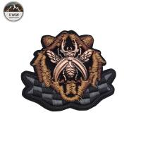 Buy cheap 3D Handmade Custom Made Embroidered Patches With Stitch Border Style from wholesalers