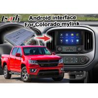Buy cheap Durable GPS Navigation Box Video Interface / Chevrolet Colorado Mirror Link Navigation from wholesalers