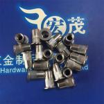 Buy cheap Stainless Steel Flat Head Knurled Rivet Nuts blind rivet nut pop nut pem nut from wholesalers