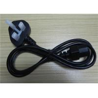 Buy cheap PHINO UK Kite Mark Black Kettle Lead Power Cable With 3a Fuse 1.5m Length Bs En60320 from wholesalers