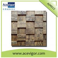 Buy cheap Antique texture mosaic wall tiles with high quality and comfortable feeling from wholesalers