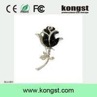 Buy cheap Kongst Creative Novelty jewel rose usb flash drive for promotional gift from wholesalers