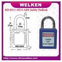 Buy cheap China Bradi 25mm short shackle, WELKEN ,master&alike ,8 colors optional, ABS safety padlock from wholesalers