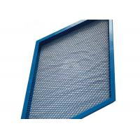 Buy cheap U Type Frame Diamond Mesh Expanded Metal Mesh For Decoration Wall Panel from wholesalers