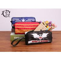 Buy cheap Marvel Batman Logo Pencil Case Pouch Polyester Canvas Pencil Box Gift For Children School Opening from wholesalers