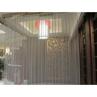 Buy cheap High Strength 304 mesh curtain panel Metal Coil Drapery for Curtain Popular pink of metal coil drapery curtain from wholesalers