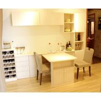 Buy cheap Wooden Dining Room Cabinet Table Set With Wine Cabinet Cupboard from wholesalers