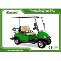 Buy cheap Mini Electric Golf Car 48V Light Green 4 Passenger Electric Car/Trojan Battery from wholesalers